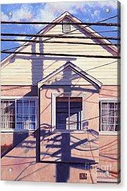 Nexus Acrylic Print by Lynette Cook