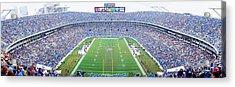 Nfl Football, Ericsson Stadium Acrylic Print by Panoramic Images