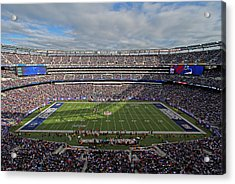 Nfl New York Giants Acrylic Print