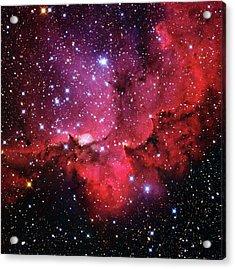 Ngc 7380 Star Cluster Acrylic Print