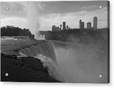 Niagara Falls - Autumn - B N W Acrylic Print