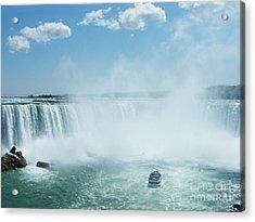Niagara Falls In Spring Acrylic Print by Phil Banks