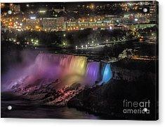 Niagara Falls Acrylic Print by JRP Photography