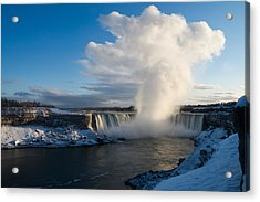 Niagara Falls Makes Its Own Weather Acrylic Print