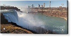 Niagara Falls Panorama Acrylic Print