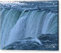 Niagara Falls - Power Acrylic Print by Phil Banks