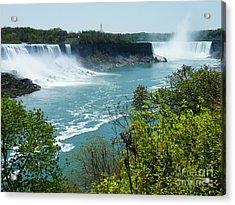 Niagara Falls - Springtime Acrylic Print by Phil Banks