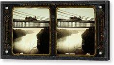 Niagara Falls, Summer View, Suspension Bridge Acrylic Print