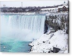 Niagara Falls Winter Acrylic Print