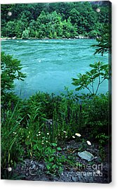 Niagara River Gorge  Acrylic Print by Tom Brickhouse