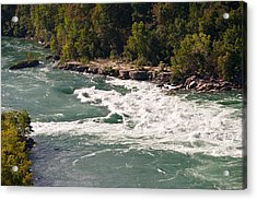 Acrylic Print featuring the photograph Niagara River Rapids by Marek Poplawski