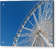 Niagara Sky Wheel Acrylic Print by Rob Amend
