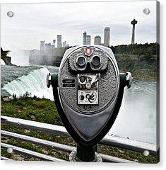 Niagara Vigil Acrylic Print by Richard Reeve