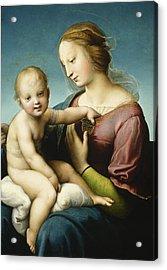 Niccolini Cowper Madonna Acrylic Print by Raphael