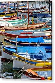 Nice Boats  Acrylic Print