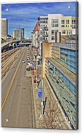 Nice Glass - Color Acrylic Print by Chris Anderson
