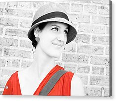 Acrylic Print featuring the photograph Nice Hat by Tony Murray