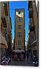 Acrylic Print featuring the photograph Nice - La Maison by Allen Sheffield
