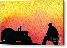 Nice Time Of Day Acrylic Print by R Kyllo
