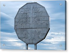 Acrylic Print featuring the photograph Nickel Monument by Marek Poplawski