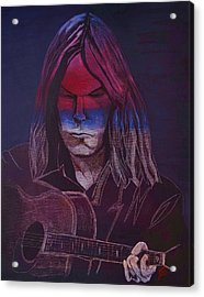 Neil Young   Patriot Acrylic Print