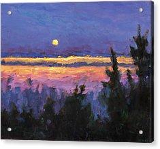 Night Across The Bay Acrylic Print