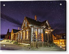 Night At The Cain House Acrylic Print by Cat Connor