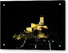 Night At The Castle Acrylic Print