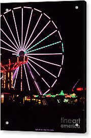 Night At The Fair Acrylic Print