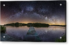 Night At The Lake  Acrylic Print