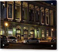 Night At The Library Acrylic Print by Robert Culver