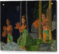Night At The Luau Acrylic Print