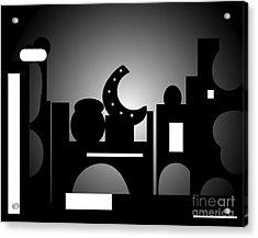 Night Bazaar Acrylic Print