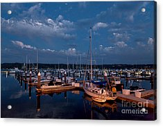 Night Beckons Acrylic Print by Beve Brown-Clark Photography