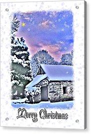 Christmas Card 27 Acrylic Print