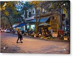 Night Crossing Hanoi Acrylic Print
