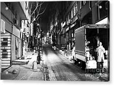 Night Delivery In Istanbul Acrylic Print by John Rizzuto