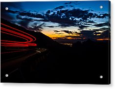 Night Delivery Acrylic Print by Swift Family