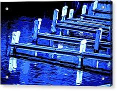 Night Docks Acrylic Print