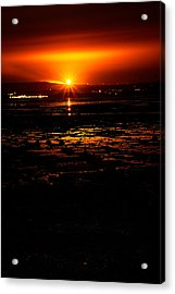 Night Flare. Acrylic Print