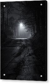 Night Fog Acrylic Print
