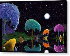 Night Games Acrylic Print
