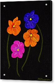 Night Glow Acrylic Print by Celeste Manning