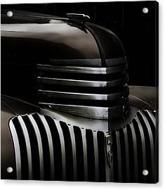 Night Grille Acrylic Print by Ken Smith