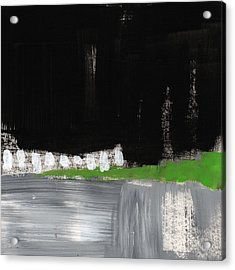 Night Horizon- Abstract Landscapeart Acrylic Print