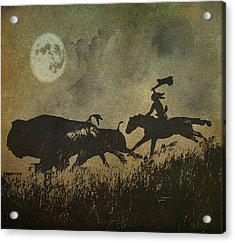 Acrylic Print featuring the photograph Night Hunter by Roy  McPeak
