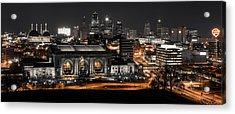 Night In The City Acrylic Print