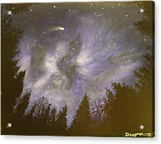 Night In The Forrest Acrylic Print