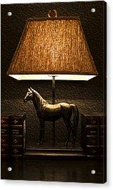 Night Lamp Acrylic Print by Radoslav Nedelchev