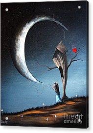 Night Light By Shawna Erback Acrylic Print by Shawna Erback